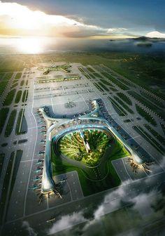 Incheon international airport, Korea