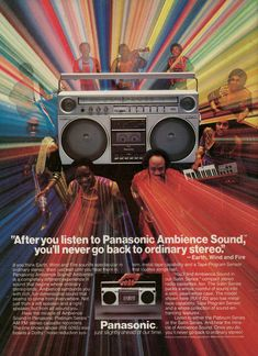 Earth, Wind and Fire - Panasonic, 1983