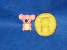 Koala Silicone  Push Mold Fondant Sugarcraft Resin Clay Candy #2 chocolate #LobsterTailMolds