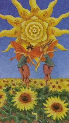 sun and moon tarot The sun