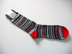 Men's Colorful Multi-Color Striped Socks One Size NWT Neiman Marcus  #NeimanMarcus #Casual