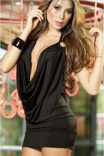 Get the party started in this plus size sexy ultra low cut 9f5f64261