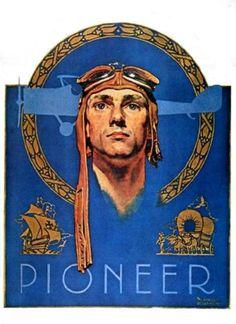 Pioneer - Norman Rockwell