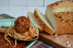 Classic Spaghetti with Meatballs :: Recipe on PocketChangeGourmet.com