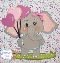 Elefante Foam Crafts, Preschool Crafts, Diy And Crafts, Crafts For Kids, Paper Crafts, Baby Shawer, Decorate Notebook, Felt Animals, Kids Cards