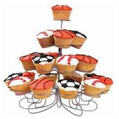 Have a Ball! Cupcakes