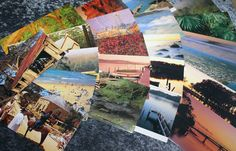 Handmade envelopes. Australian photo by DragonzWenchEmporium