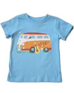 Camper van T-shirt - Unisex - Organic Clothes By Frugi