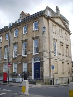 Jane Austen's House!  - residence in London which belonged to her brother.....she wrote Northanger Abbey while staying with him