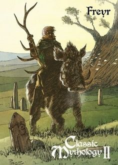 Freyr, also spelled Frey, also called Yngvi, the ruler of peace and fertility…