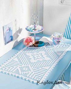 Crochet everything. Crochet Round, Crochet Baby, Free Crochet, Knit Crochet, Crochet Table Runner, Crochet Tablecloth, Crochet Doilies, Border Embroidery Designs, Fillet Crochet