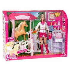 Barbie I Can Be...Pony Doctor by Barbie. $30.07. Barbie I can be A Pony Doctor - Barbie can be anything she wants, and so can you! What a better way to let your dreams come true than pretending to be a real live pony doctor. Comes with not just Barbie, but a pony and doctor accessories. A must have for any Barbie or animal lover.. Save 37% Off!