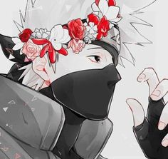 Cute Kakashi Hatake ♥ #FanArt #Beautiful