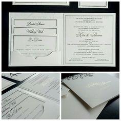vinas invitation single hardcover hardcover invitation wedding