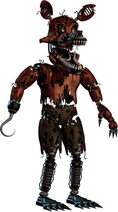 Five Nights at Freddy's 4 Nightmare Foxy | Png+ by TheSitciXD on DeviantArt