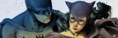Batman and Catwoman banner for Blastoff Comics by elena-casagrande.deviantart.com on @deviantART