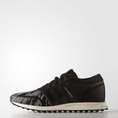 adidas Los Angeles Shoes Denim Pack - Black | adidas UK