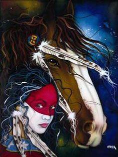 Native Americans Indians Henri Peter Indian Art | Henri Peter Prints - Southwest Sensations