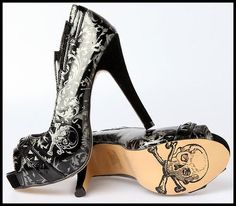 Sapato Caveira ...muito lindo!