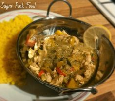 Sugar Pink Food: Slimming World Recipe:- Thai Green Curry
