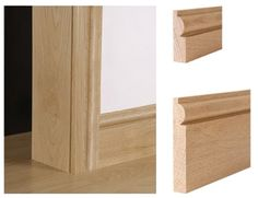 Architrave and skirting