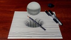 Drawing a 3D Hole/Sphere with Lines
