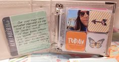 We R Memory Keepers 4x4 Mini Albums Made Easy. Great for Instagram photos.