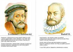 Ferdinand I. Habsburský a Rudolf II. Ferdinand, Royals, Education, School, Children, Young Children, Boys, Kids, Onderwijs