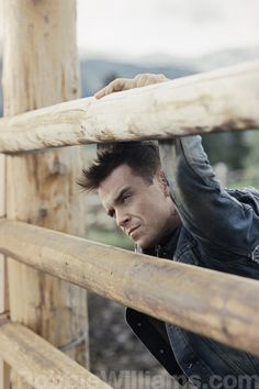 Robbie Williams - the first man I ever loved lol