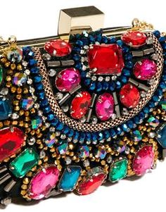 jeweled clutch $82