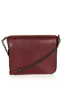 Clean Chain Strap Crossbody Bag - Personal Shopper Look of The Day - New In - Topshop