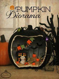 Pumpkin Diorama Craf