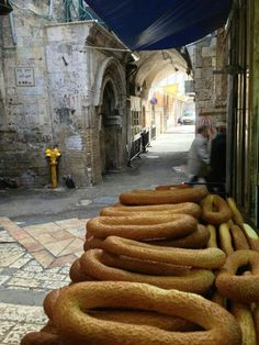 The Beautiful cakes of Jerusalem (Palestine)