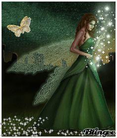 celtic winged fairy