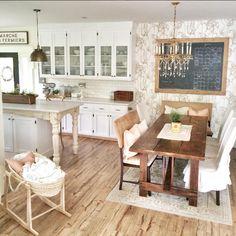 Jess Wasserman | Swiftlock Laminate Flooring in antique hickory, swift lock laminate flooring