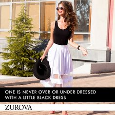 #Dressing is a way of life. #clothes #fashion #trend #BlackDress #ZurovaDiaries