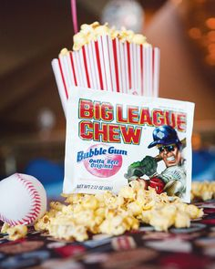 Creative Home Run Baseball Bar Mitzvah