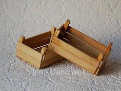 Мастерим миниатюрные деревянные ящики для сбора урожая - Ярмарка Мастеров - ручная работа, handmade
