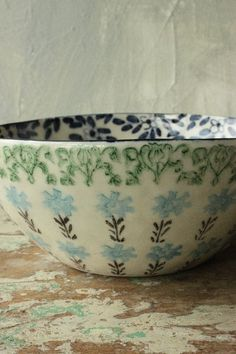 Spongeware bowl