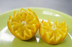 How To Make Orange Garnishes With Chef Ortega