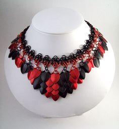 chainmaille necklace by Eternalelfcreations