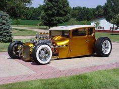 1927 Ford T Coupe.