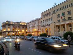 Via Roma Salerno   Questura e Palazzo di Città