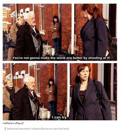 """""""There are times when I relate to donna on a spiritual level"""""""
