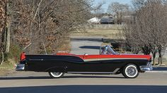 1957 Ford Fairlane 500 Sunliner Professional Restoration presented as lot S95 at Houston, TX 2015 - image2