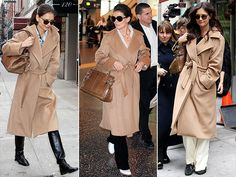 Camel coats obssession - Lina Asselien