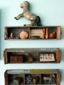 sewing machine drawers from Saffron and Genevieve - love this!