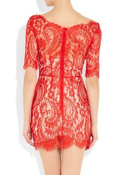 Lover|Christina lace dress|NET-A-PORTER.COM