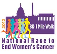 Register today for the National Race to End Women's Cancer, Nov. 4th in Washington, DC. Movements MATTER!