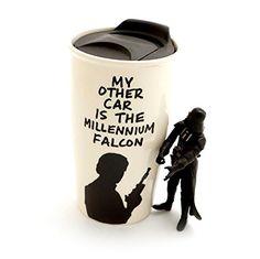 Millennium Falcon Han Solo Eco Travel Mug Lennymud